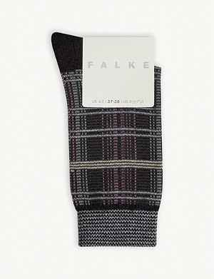 FALKE Moorland cotton-blend socks