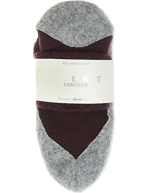 FALKE Cosyshoe merino wool slippers