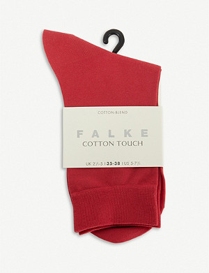 FALKE Cotton Touch cotton-blend socks