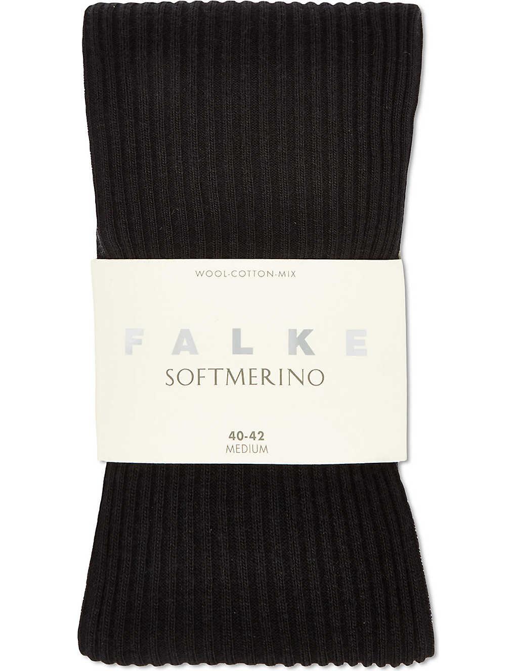 4fd805997040d FALKE - Soft merino ribbed tights   Selfridges.com