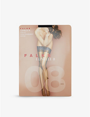 FALKE: Lunelle Peacock stockings