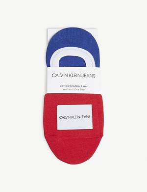 CALVIN KLEIN Branded trainer liners