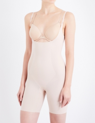 SPANX Thinstincts open-front microfibre body