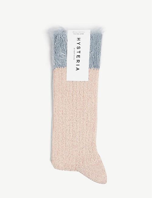 2652140a7aa HYSTERIA - Knee high - Socks - Hosiery - Lingerie - Nightwear ...