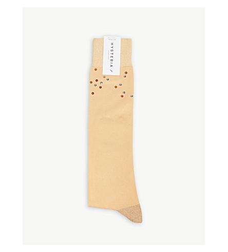d2d58d174a9 HYSTERIA - Hysteria Madda knee-high sequin socks