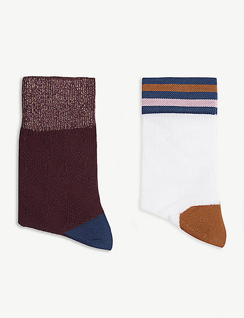 HYSTERIA Gabrielle socks set of two