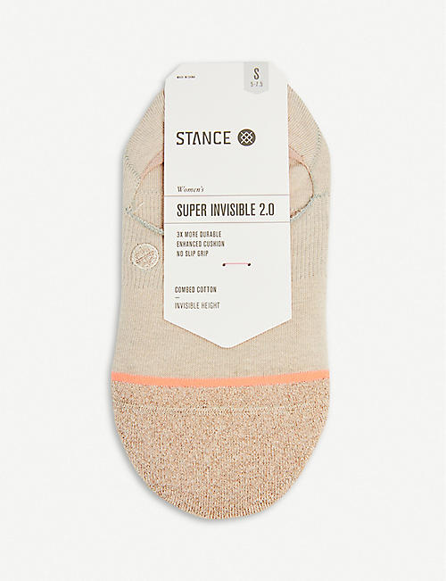 STANCE Glowing cotton-blend socks