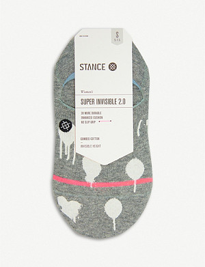 STANCE Drip Drip Super Invisible 2.0 combed cotton-blend socks