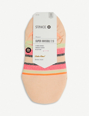 STANCE Watermelon invisible cotton-blend socks