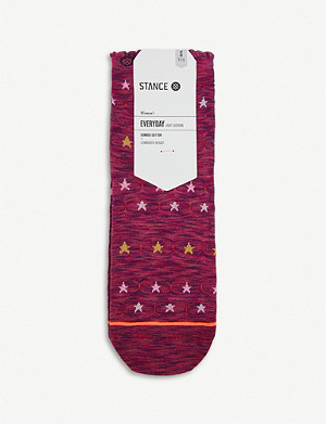 STANCE Morning Star cotton-blend crew socks
