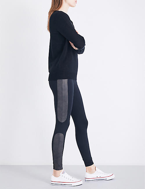 SPANX Panelled jersey leggings