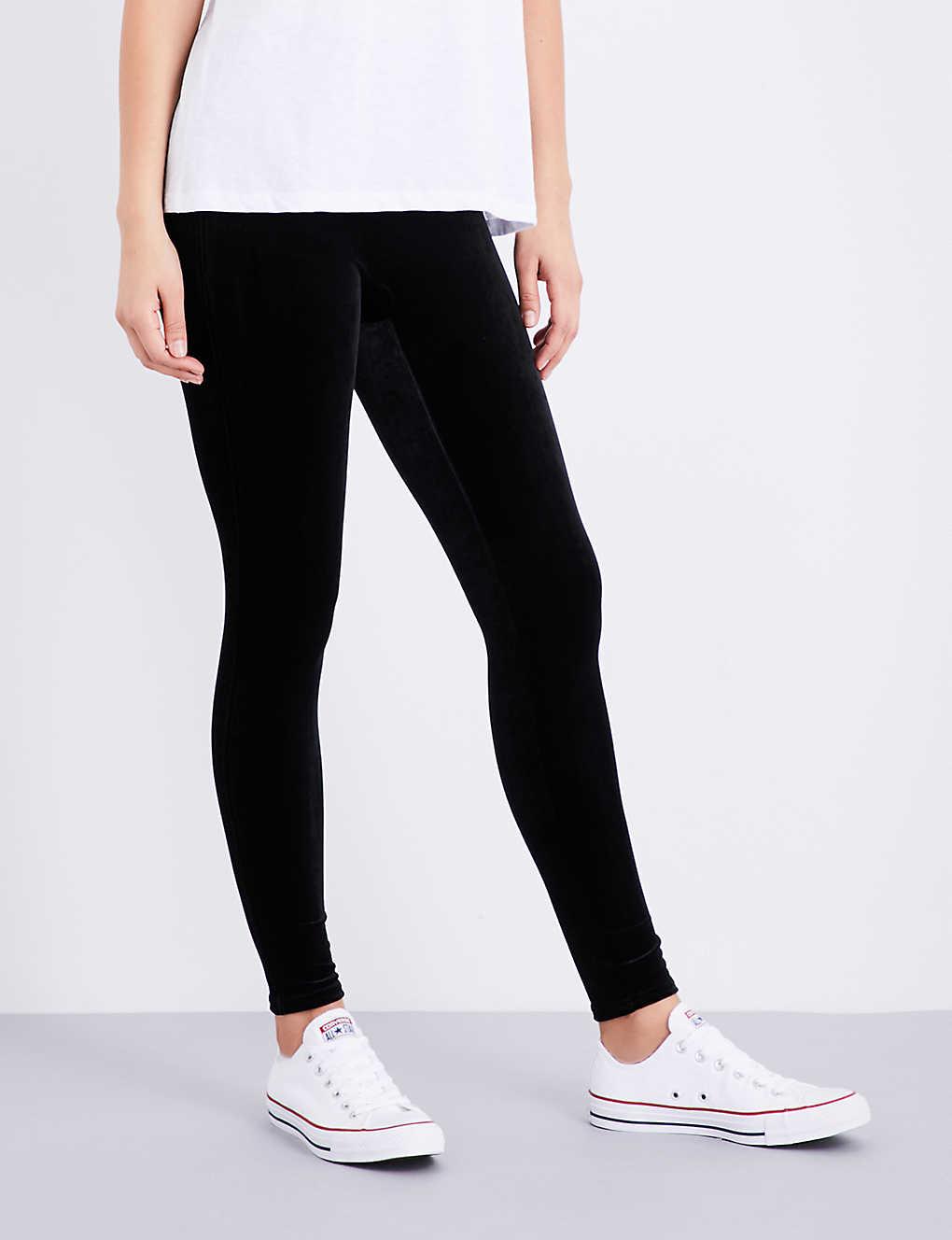 4671ce57e577d SPANX - Velvet leggings | Selfridges.com