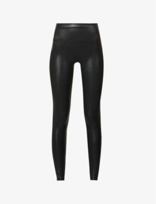 dea87815ee81 SPANX - High-rise faux-leather leggings