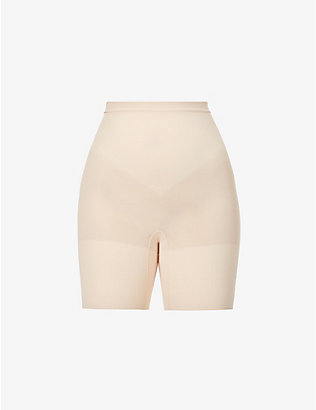 SPANX: Power Shorts high-rise stretch-jersey shorts