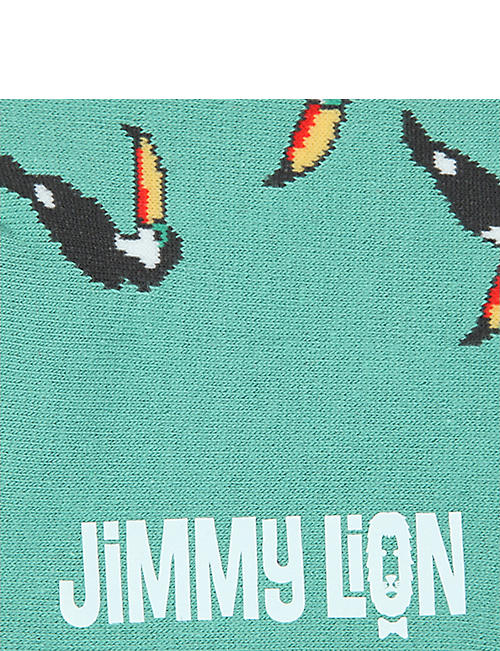 JIMMY LION Toucan cotton socks