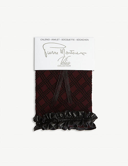 PIERRE MANTOUX Cindy frill socks
