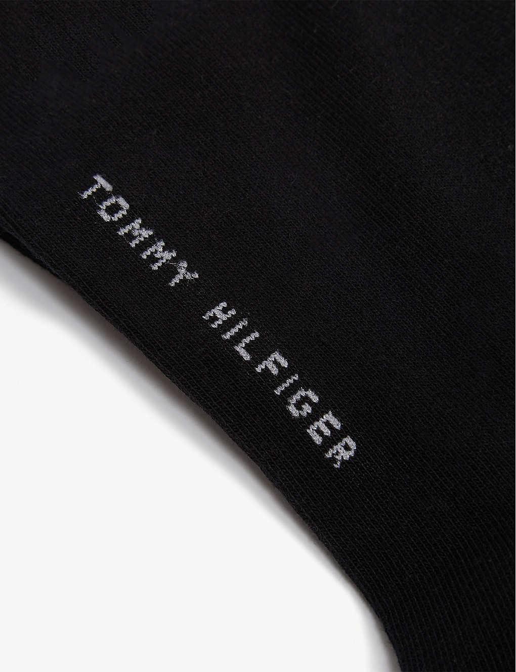 f2c5ab475 TOMMY HILFIGER - Logo cotton-blend set of two trainer socks ...