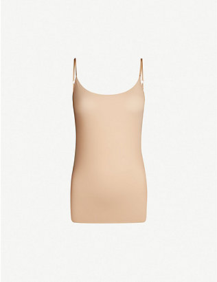 COMMANDO: Whisper Weight microfibre camisole