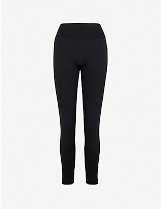WOLFORD: Perfect Fit high-rise jersey leggings