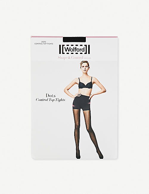 WOLFORD Wolford Dot control top tights