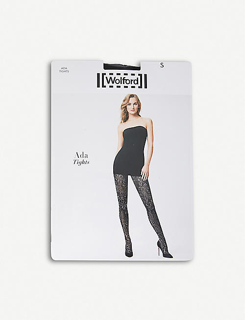 WOLFORD Ada knitted tights