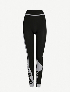 WOLFORD True branded stretch-woven leggings