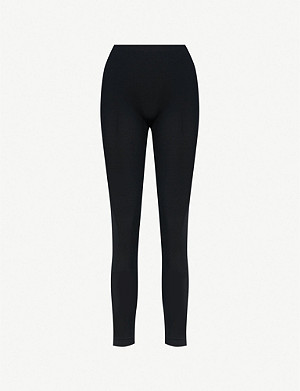 WOLFORD High-rise skinny jersey leggings