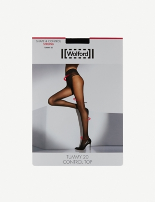 WOLFORD Tights TUMMY CONTROL TOP TIGHTS