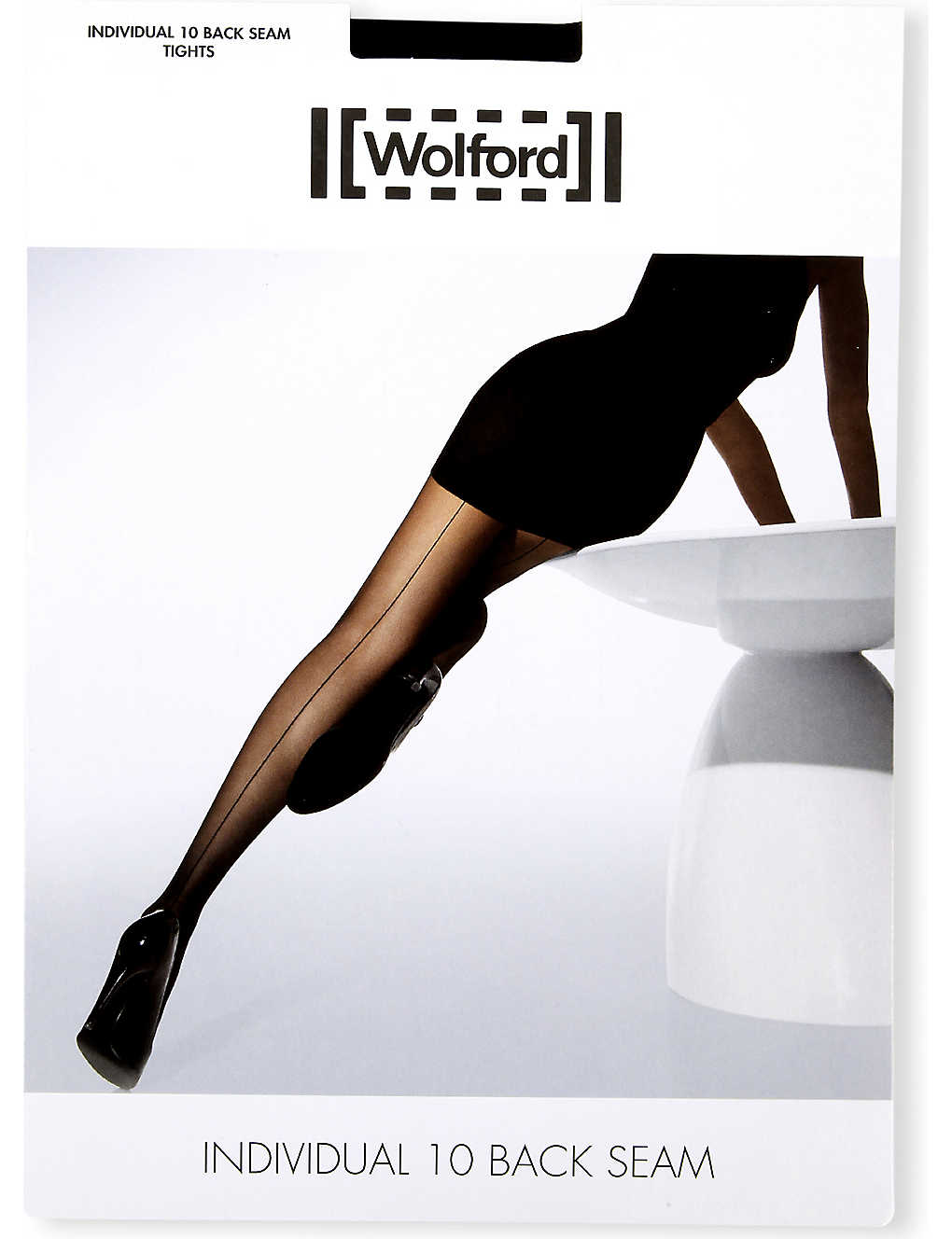 WOLFORD: Individual 10 back-seam tights