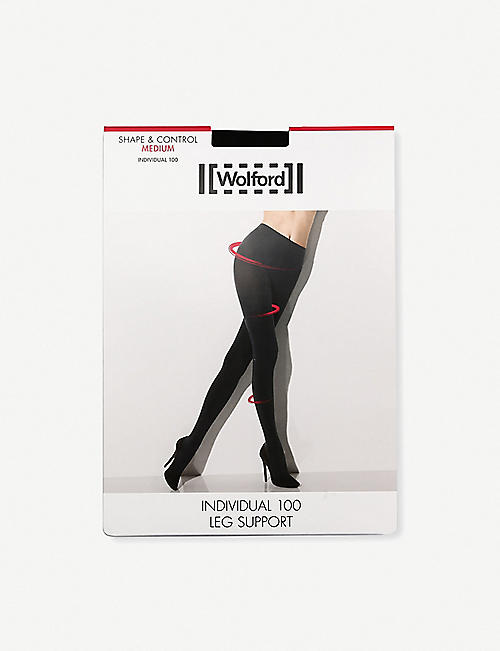 WOLFORD Opaque individual 100 tights