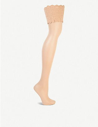 WOLFORD: Satin touch 20 hold-ups