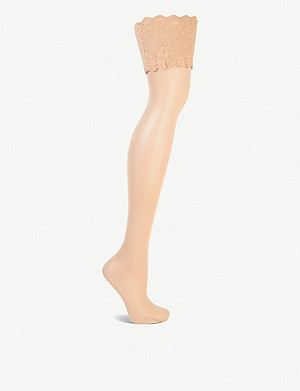 WOLFORD Satin touch 20 hold-ups