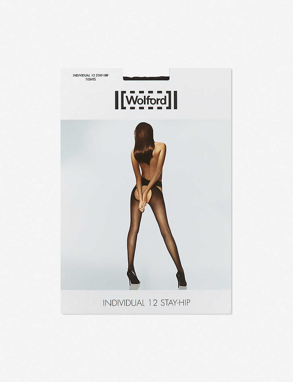 a813ac7e9f1 ... Individual 12 stay-hip tights - Black zoom