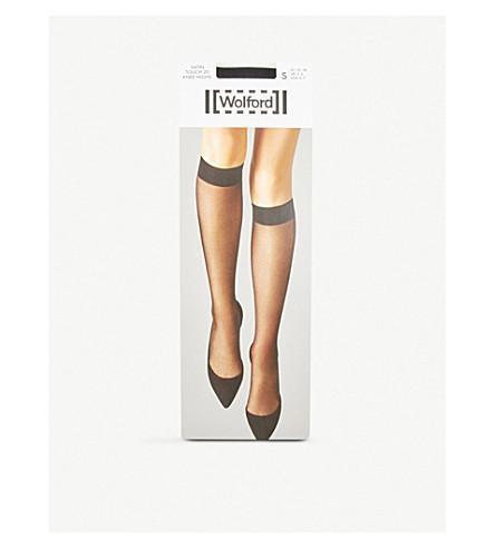 WOLFORD Socks SATIN TOUCH POP-SOCKS