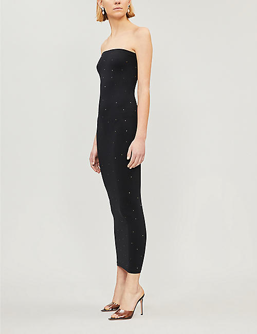WOLFORD Crystal Blaze stretch-jersey dress