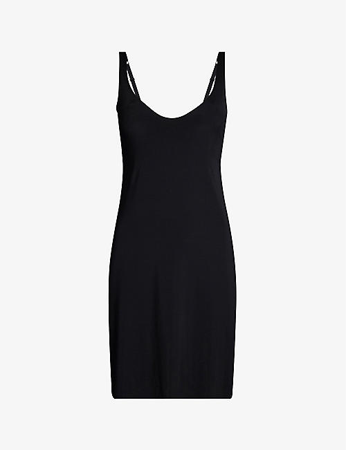 WOLFORD: Pure stretch-woven dress