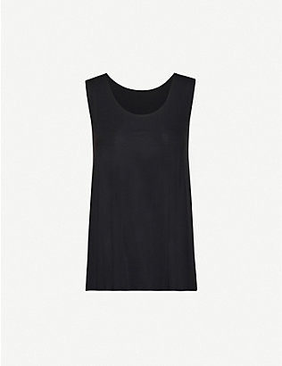 WOLFORD: Aurora stretch-jersey vest top