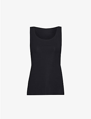 WOLFORD: Aurora Pure stretch-jersey vest top