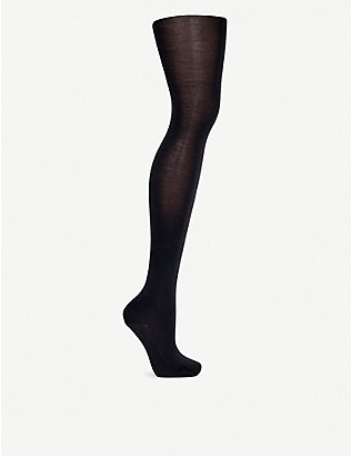 WOLFORD: Merino wool tights