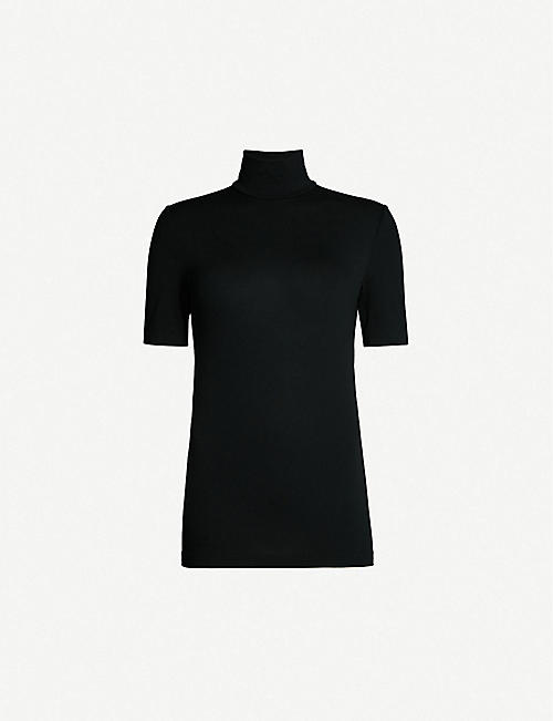 WOLFORD Aurora stretch-jersey top