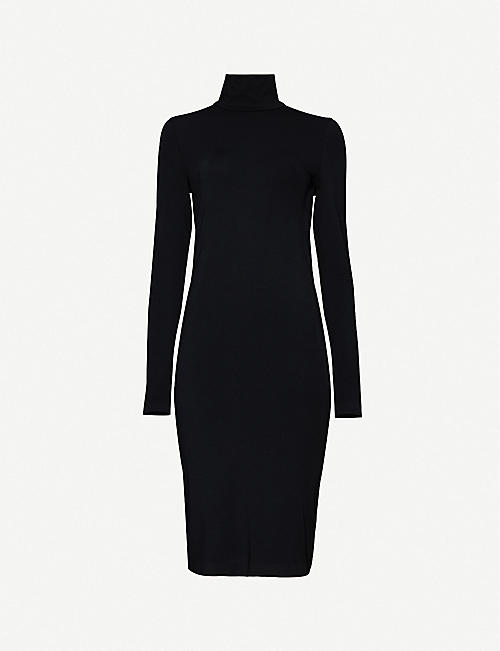 WOLFORD Aurora stretch-jersey midi dress