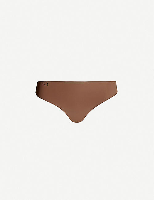WOLFORD: Pure String jersey thong