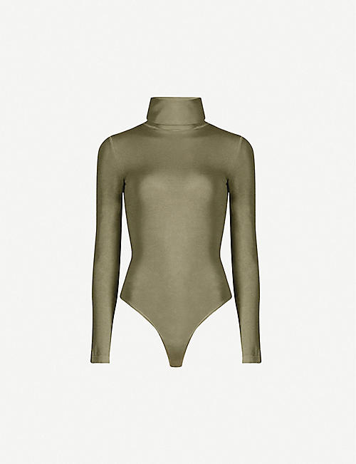 WOLFORD Colorado turtleneck stretch-jersey body