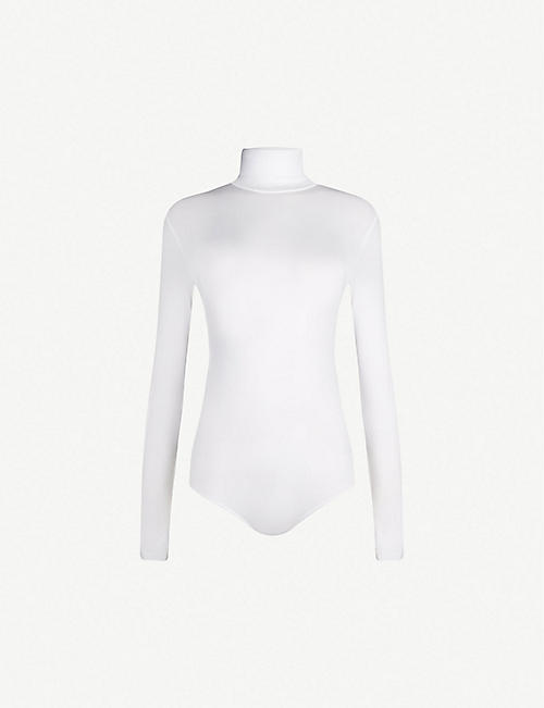 WOLFORD: Colorado turtleneck stretch-jersey body