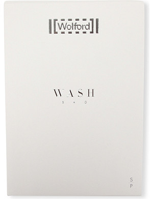 WOLFORD Zip net wash bag