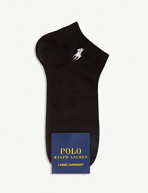 POLO RALPH LAUREN Supersoft three-pack socks