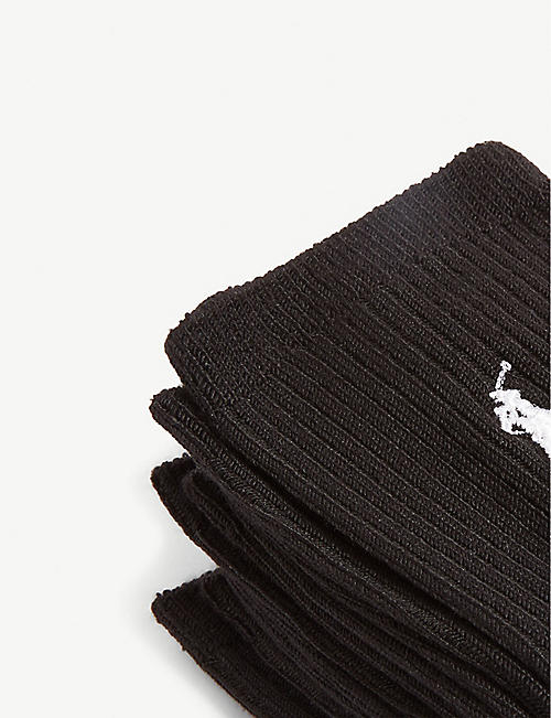 POLO RALPH LAUREN Logo super-soft socks set of three