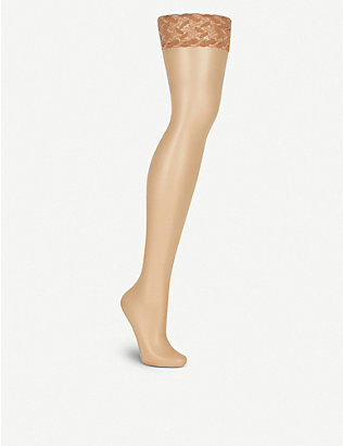 FALKE: Shelina ultra-transparent hold-ups
