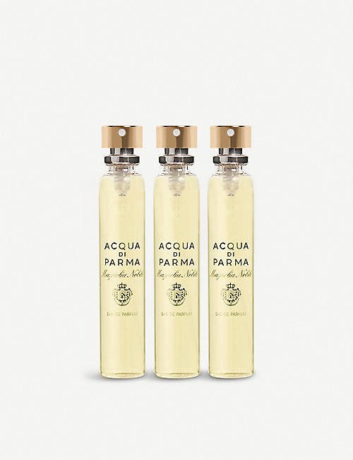 ACQUA DI PARMA: Magnolia Nobile leather purse spray refill 3x20ml