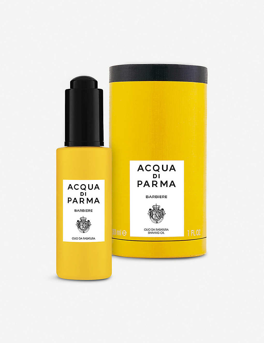 ACQUA DI PARMA: Barbiere shaving oil 30ml